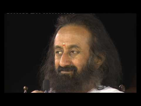 Knowledge Session with Gurudev