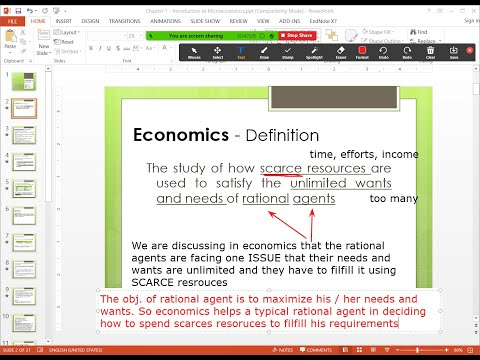Introduction to Economics Part 1 - Defining Rational Agents