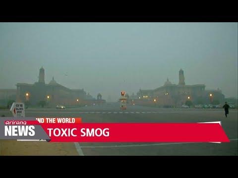 Toxic smog blankets New Delhi
