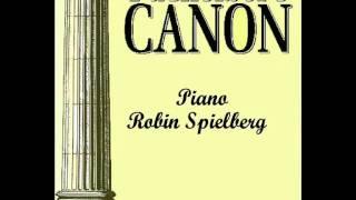 Pachelbel Canon Robin Spielberg Piano