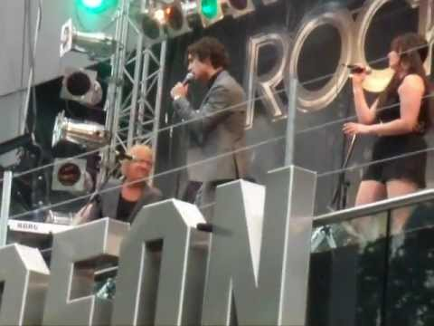 Diego Boneta Rock Of Ages Singing