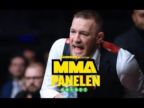 MMA-Panelen: UFC borde straffa Conor McGregor, men det kommer inte hända