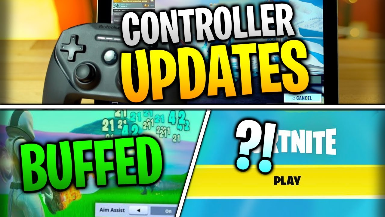 Fortnite Mobile News | Controller Updates, Aim Assist Buffed, Party Hub Improved, AND MORE!
