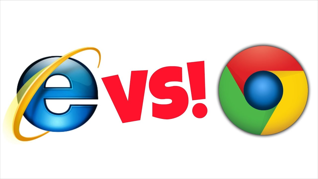 Internet Explorer Chrome
