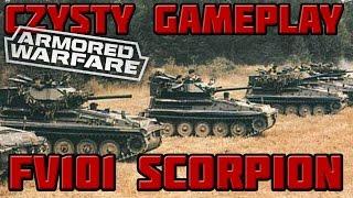 armored warfare czysty gameplay fv101 scorpion