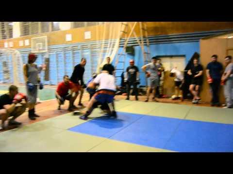 Рукопашный бой. Клуб ГЕРМЕС. Тренировка  (часть 5)