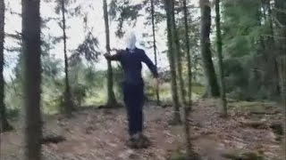 [Entry#12] REAL SLENDERMAN SIGHTING CAUGHT ON TAPE APRIL 2016 !!!
