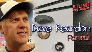 Dave Reardon - Completing The Set   LIVE Portrait Drawing (How To Cook That)