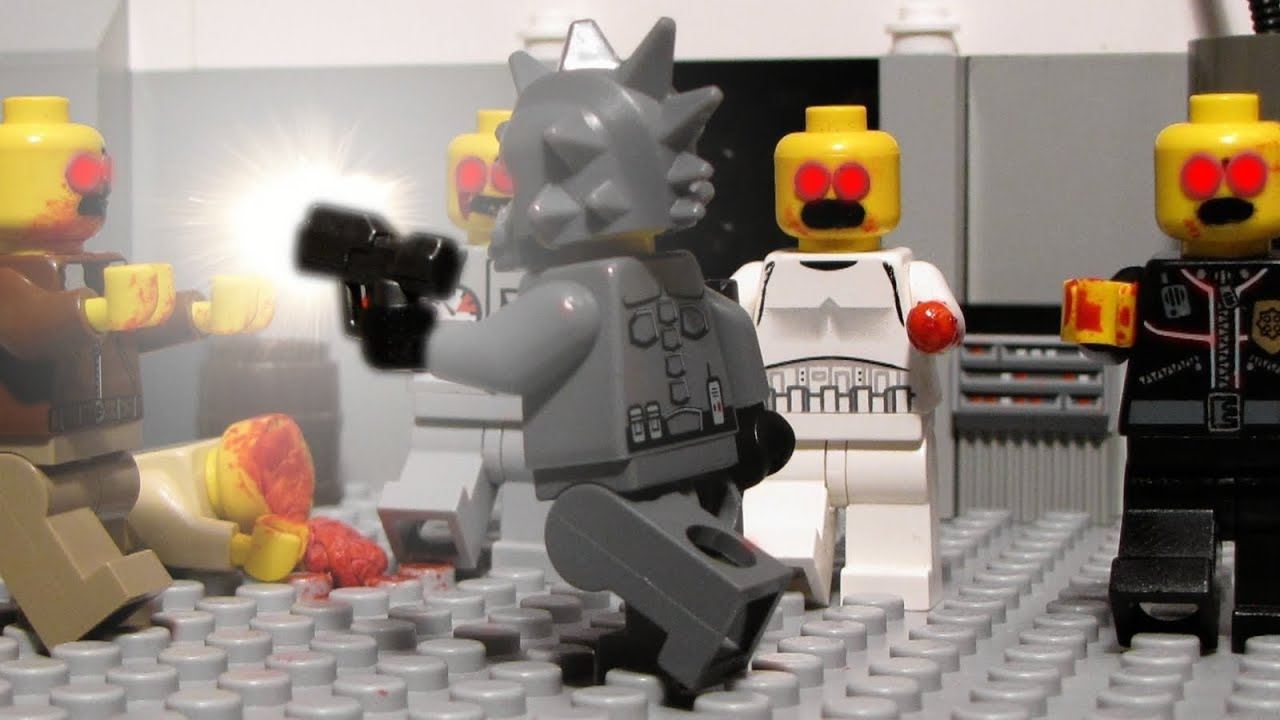 Titan Fall 2 Hd Wallpaper Lego Zombie Hunters Lego Zombie Movie Youtube