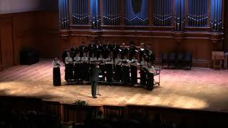 А. Шнитке. «Зима». Молодёжный камерный хор Московской консерватории