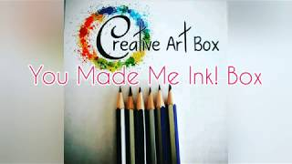 Creative Art Box how-to projects alcohol ink - You Made Me Ink! Box