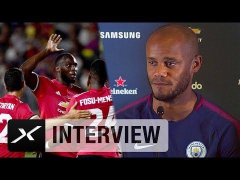"Vincent Kompany zu Romelu Lukaku: ""Erhöht Uniteds Titelchancen"" | Manchester United | Premier League"