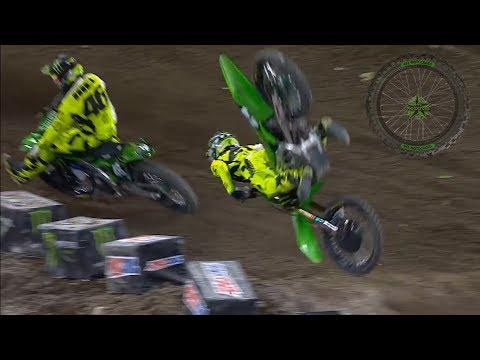 Horrific Motocross Crashes