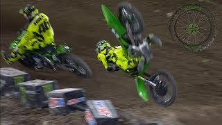 Horrific Motocross Crashes