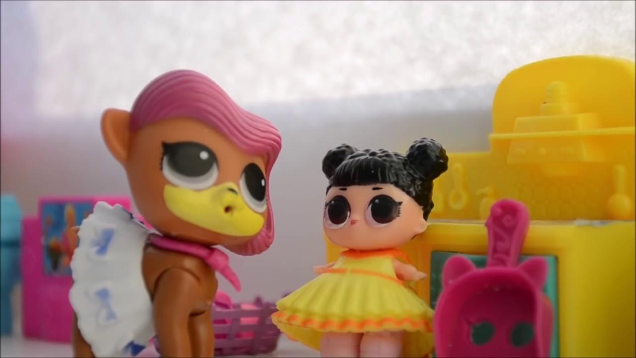 ЛОЛ питомцы и Детский садик#куклы LOL, мультики из игрушек ...