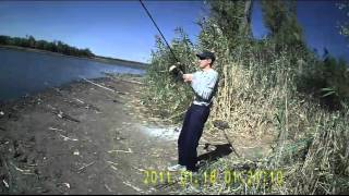 Рыбалка . Канал в Дугино Ростовская область 7 апреля 2018