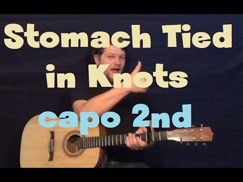 Stomach Tied In Knots Sleeping With Sirens Easy Guitar Lesson How