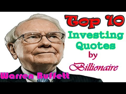 Top 10 Warren Buffett Quotes on Investing in 5 minutes