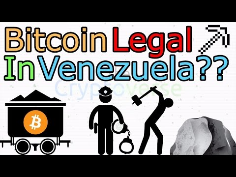 Bitcoin Legal In Venezuela, Two Arrested For Running 11,000