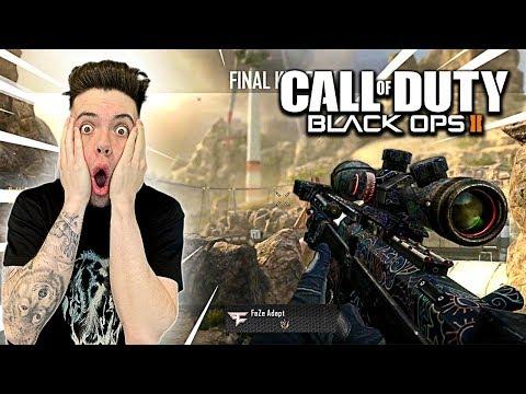 FaZe Adapt Plays Black Ops 2 In 2020....