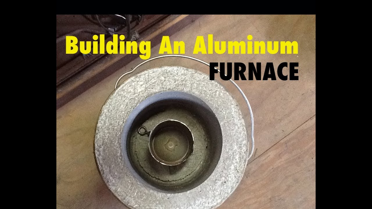 How I Built My Aluminum Foundry Furnace For Melting Metal ...