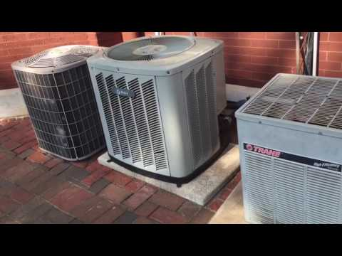 Trane Carrier Goodman Ac S Running