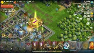 Ataque en guerra Sammy vs ATÓMICA 185 - 26.01.2017