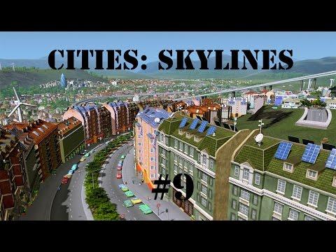 Cities: Skylines | Episode 9 | The Impossible Bicycle Bridge!