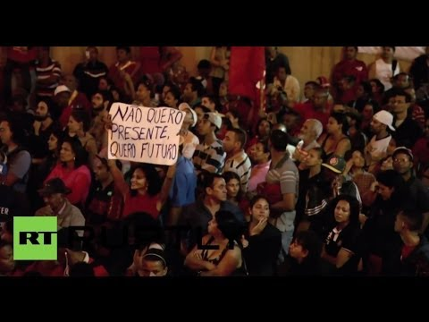 Brazil: Anti-World Cup protesters storm Sao Paulo