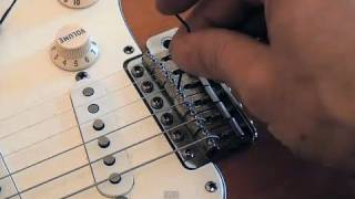 Perfect Stratocaster setup: Setting strings height action - frudua.com thumbnail