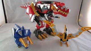 Retro Review: Thundersaurus Megazord (Power Rangers Dino Thunder)