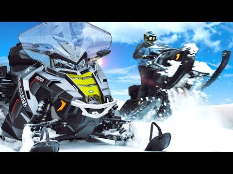 видео: Снегоход Polaris Titan - утилитарная пушка!