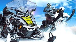 Снегоход Polaris Titan - утилитарная пушка!