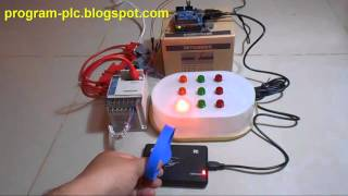 Mitsubishi PLC FX Series Communication with RFID USB Reader using Arduino USB Host