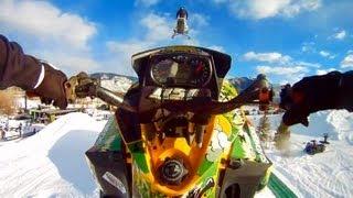 GoPro HD: Snowmobile X Games 15 – Slednecks Freestyle