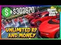 GTA 5 Online: SOLO UNLIMITED MONEY & RP! - New Best Fast Money Not Money Glitch PS4/Xbox One/PC 1.39
