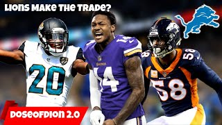 Could Lions Make A BIG TRADE?! Ramsey? Diggs? Miller? Detroit Lions Talk