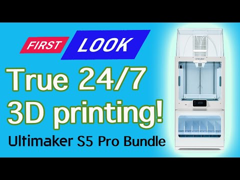 Ultimaker S5 Pro Bundle - Continuous 3D Printing 24/7