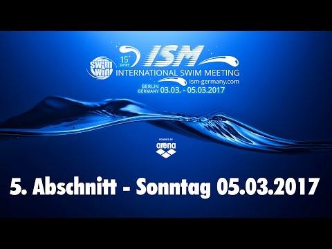 International Swim Meeting 2017 - 5. Abschnitt