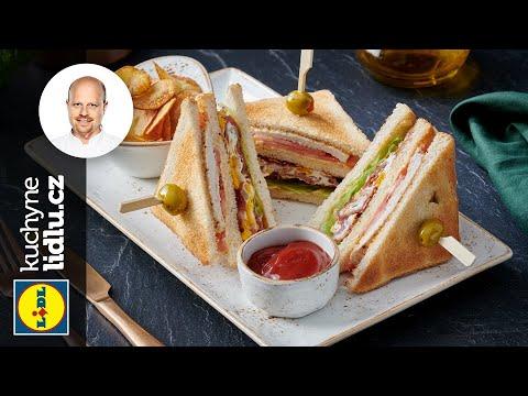 Krůtí club sandwich