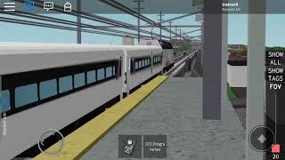 Suivre le train local nJT à Roblox