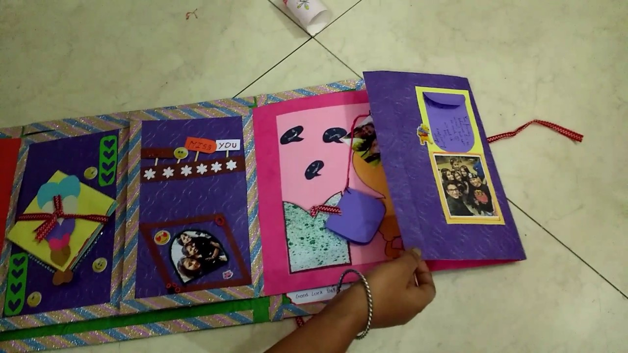 Best Handmade Farewell Card For Friend Youtube