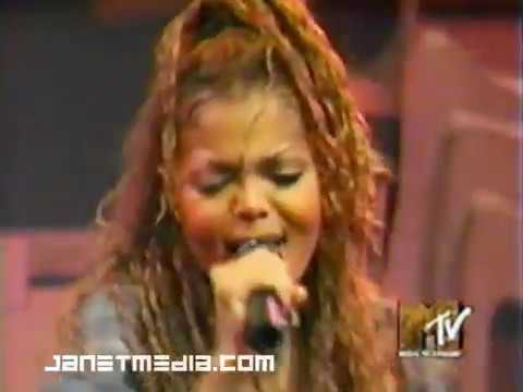 Janet Jackson - Because Of Love MTV New Year's Eve '93 '94 From Janet  Tour