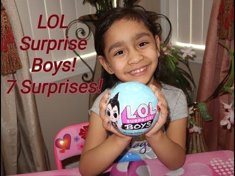 LOL Surprise Boys Series 1 Unboxing! 7 Surprises! (2019)