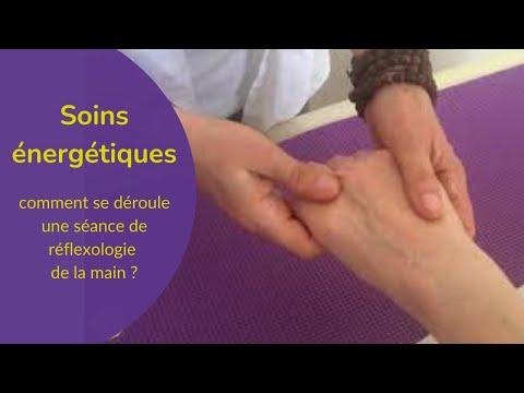 Réflexologie de la main, en vidéo
