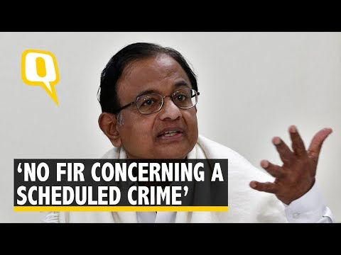 'ED Has No Jurisdiction to Investigate Under PMLA' : P Chidambaram   The Quint