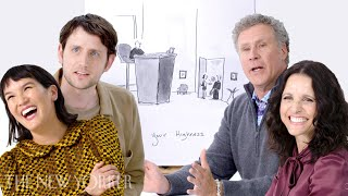 Will Ferrell and the 'Downhill' Cast Enter The New Yorker's Cartoon Caption Contest