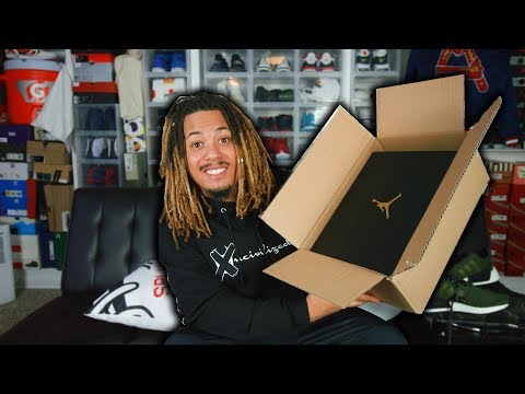 UNBOXING A LIMITED AND EARLY UNRELEASED SNEAKER PICKUP FOR UNDER RETAIL !!!