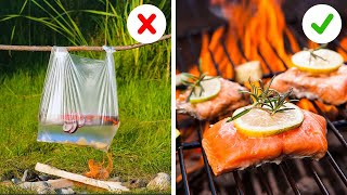 SMART PICNIC HACKS YOU'LL WANT TO TRY || 5-Minute Easy And Delicious Recipes to Cook Outdoor!