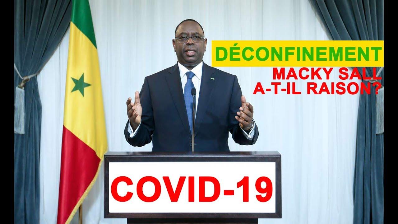 Covid-19 et déconfinement: Macky Sall a t-il raison? | Financial Afrik